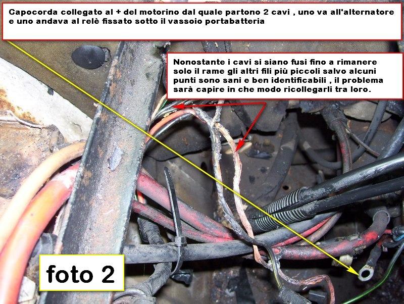Schema Collegamento Alternatore Trattore : Schema elettrico fiat